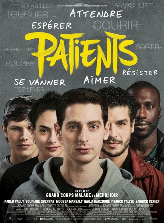 affiche du film Patients, de Grands Corps Malade & Mehdi Idir